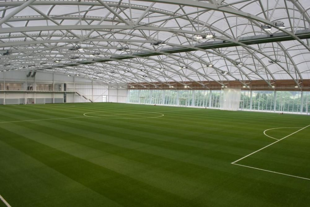 Mansion with indoor soccer field  St. George's Park | Indoor sports ideas | Pinterest | Saints, Park ...
