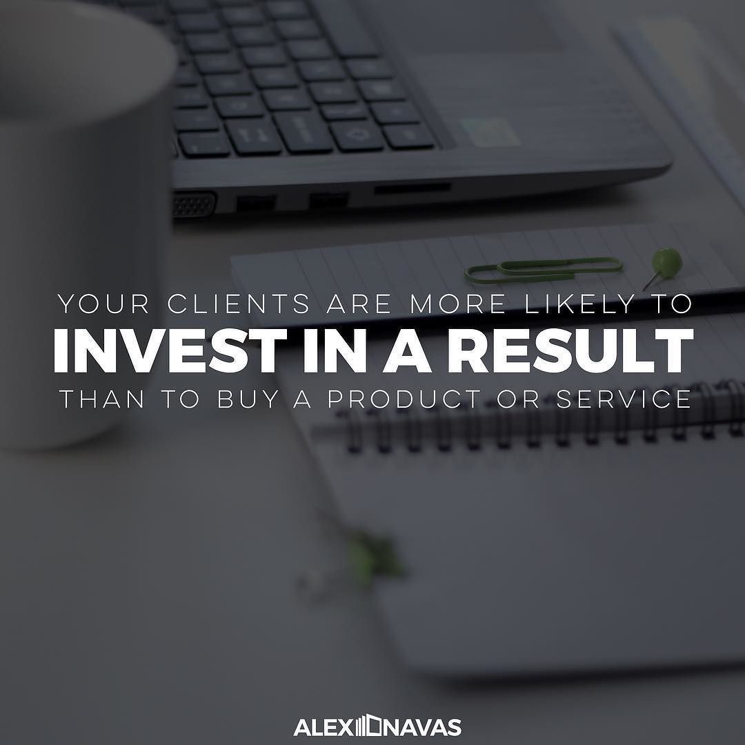 When you focus on selling a product or service you're providing a commodity. Selling an end result is providing an experience. People will often save money on commodities to afford experiences. How will you position yourself in the marketplace? #fampreneur #positioning #expert