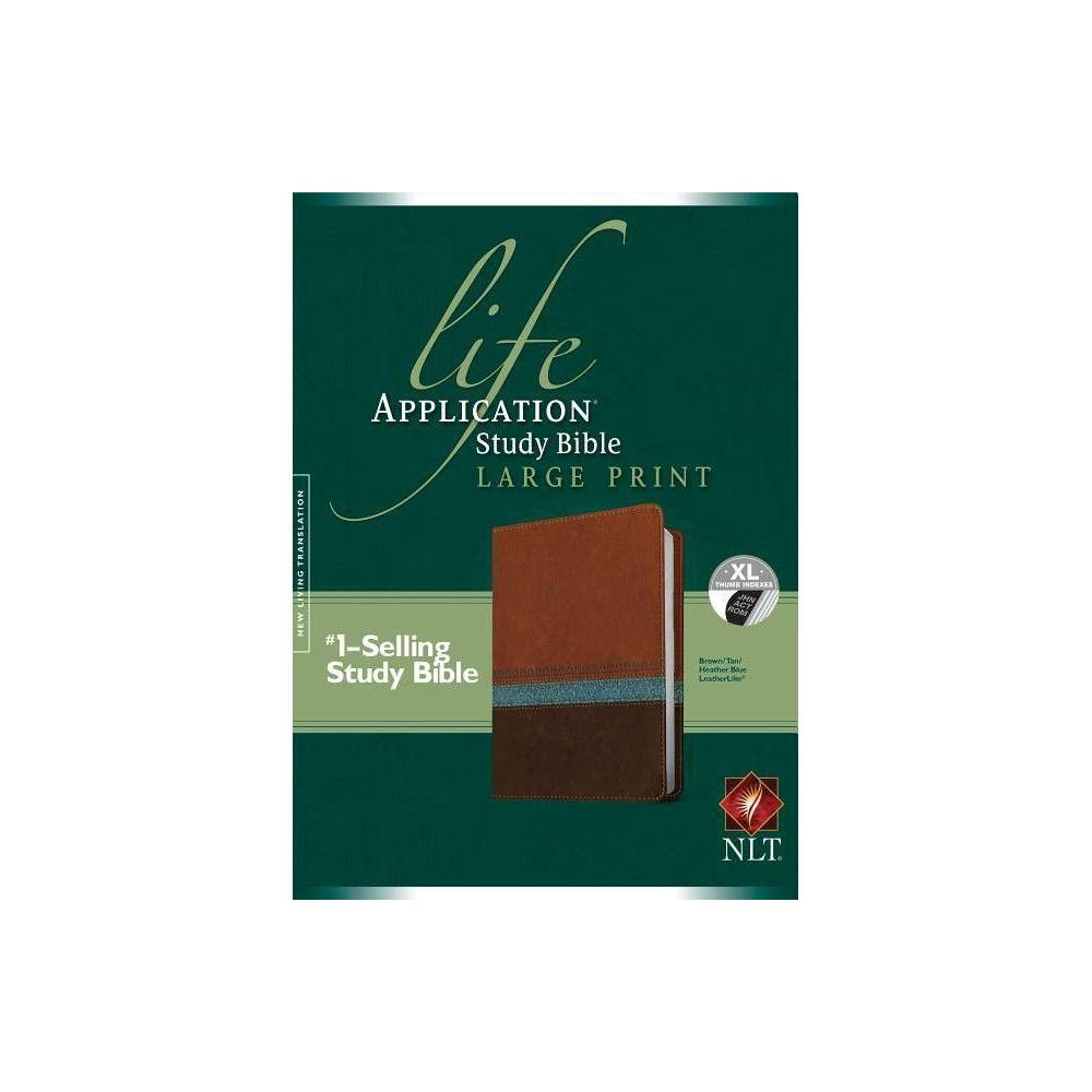 Life Application Study Bible NLT, Large Print (Leather