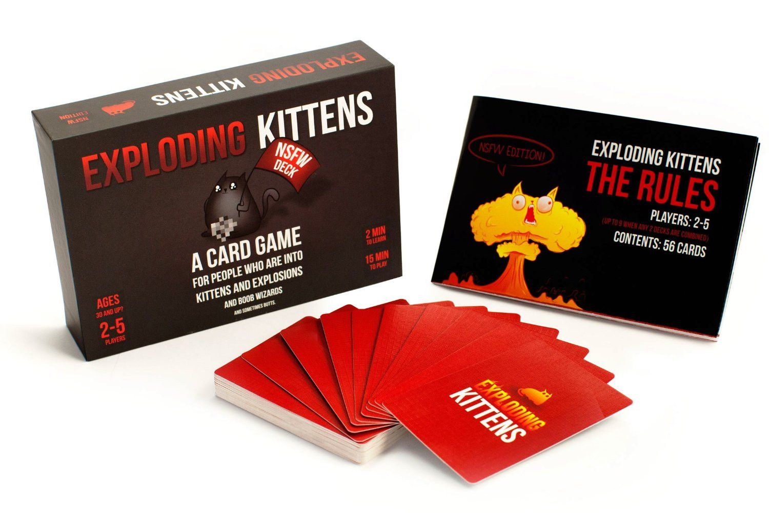 Exploding Kittens Both Decks Games Activities Etc