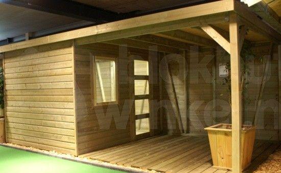 tuinhuizen met patio hout - Google zoeken