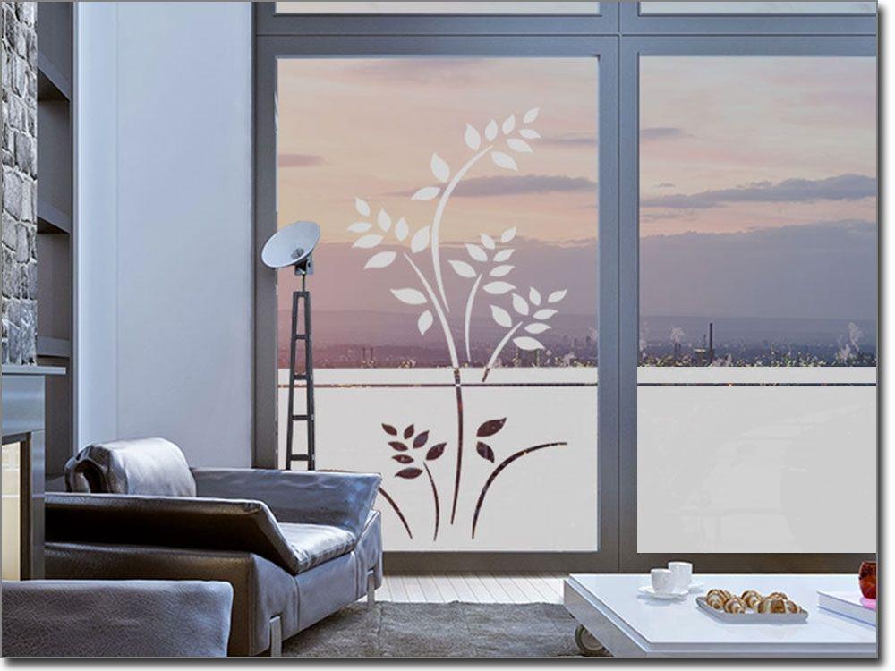 Sichtschutz Blütenmeer Sichtschutzfolie Pflanzen Pinterest - glastür badezimmer blickdicht