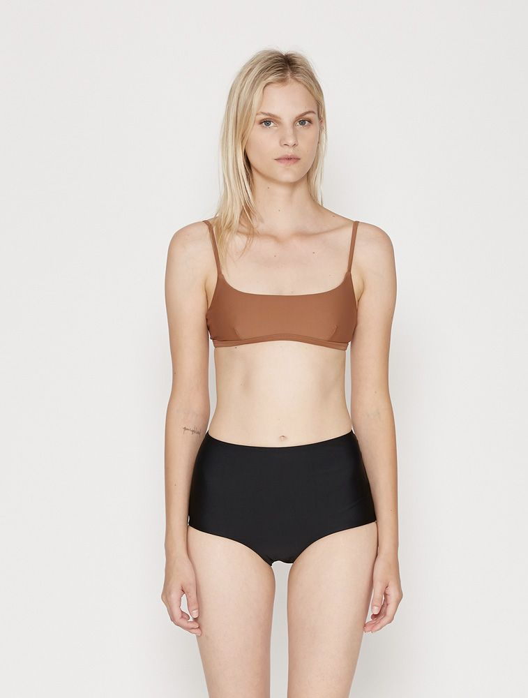 c8d7811b05 Matteau Swim | Crop Bikini Top - Almond | My Chameleon | M C ...