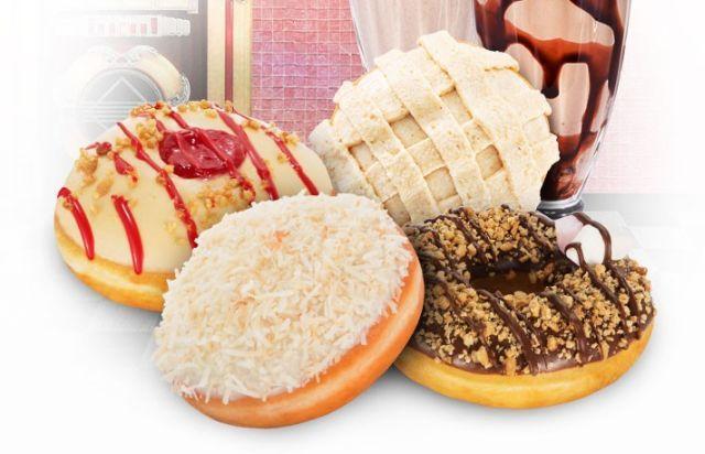 Krispy Kreme Australia Introduces an Apple Pie Doughnut