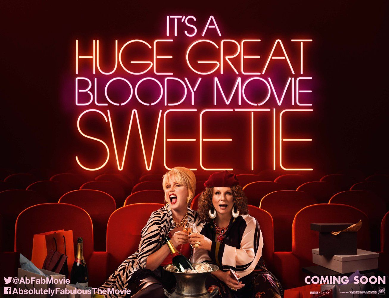Absolutely Fabulous The Movie 2016 Imdb New Poster