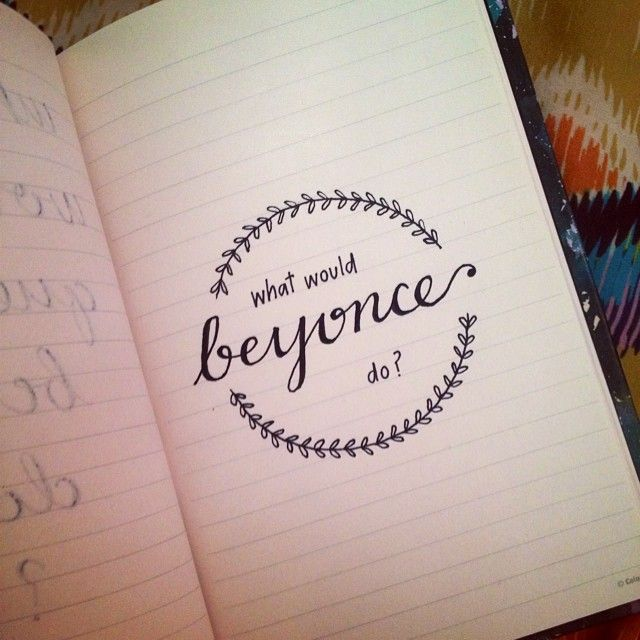 What would beyonce do the first doodle that started my