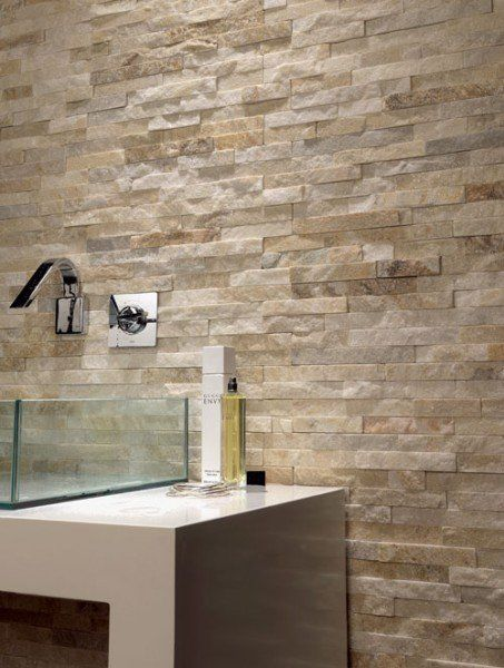 Beautiful Sand Brick Cladding Feature Wall Ireland