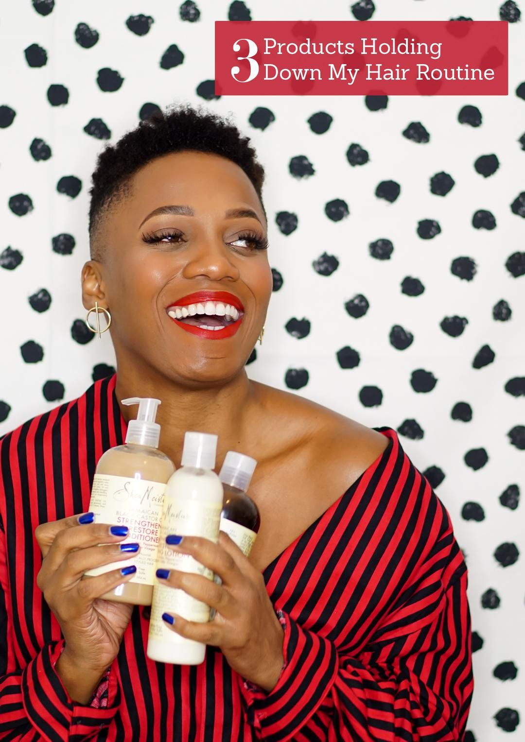 My 3Product Natural Hair Care Routine Natural hair care