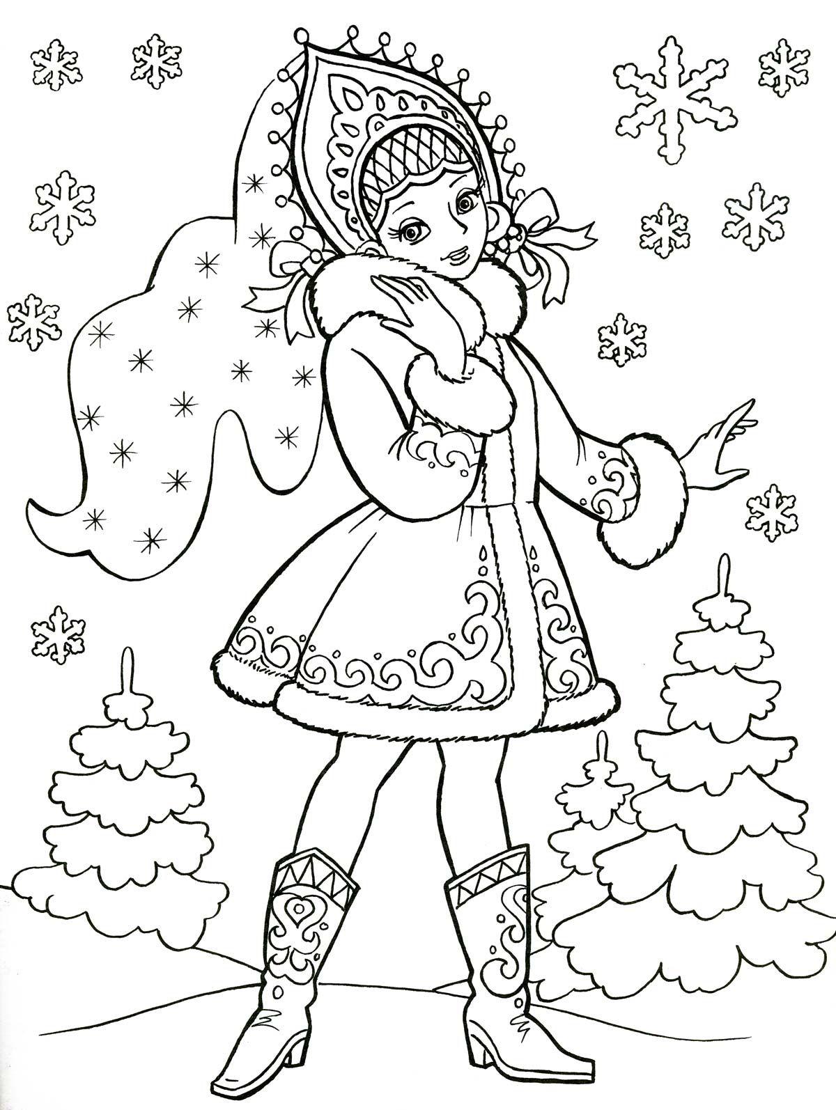 Winter Ausmalbilder :  Ausmalbilder Weihnachten Pinterest