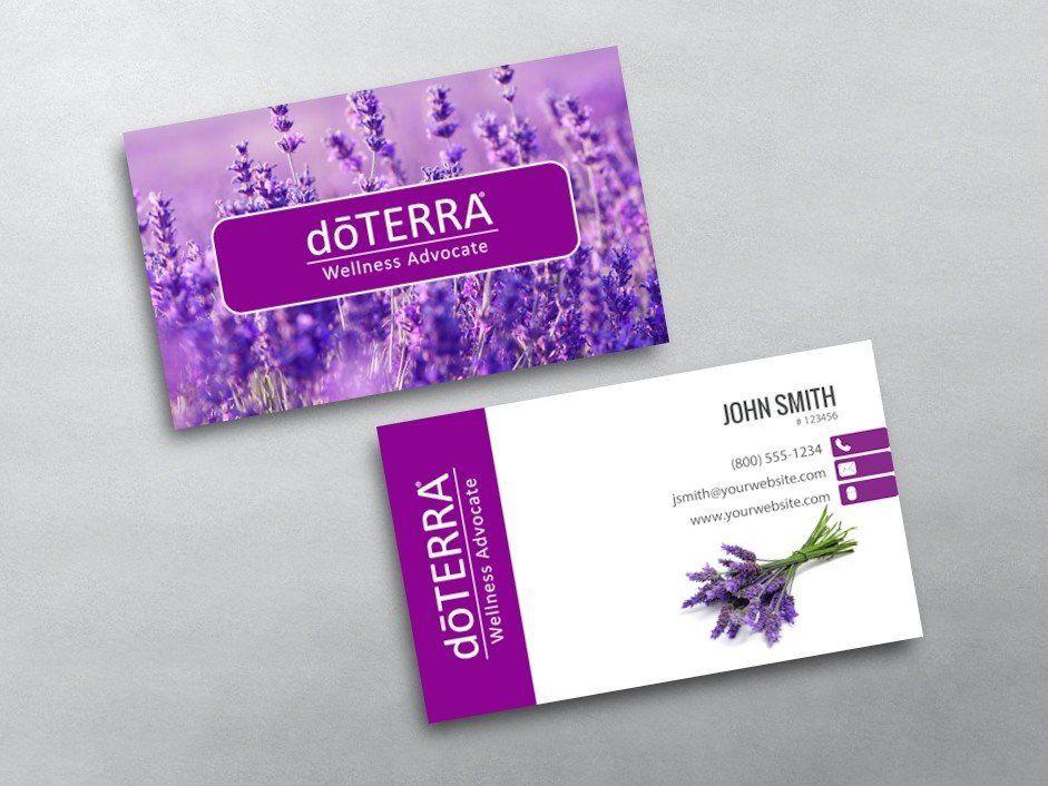 Doterra Business Card Template Doterra Business Cards Doterra Business Cards Template Free Business Card Templates Doterra Business Cards