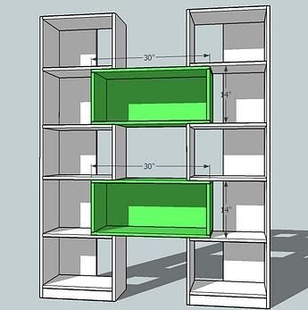 Ana White Build A Puzzle Bookcase Free And Easy DIY Project - Making bookshelves