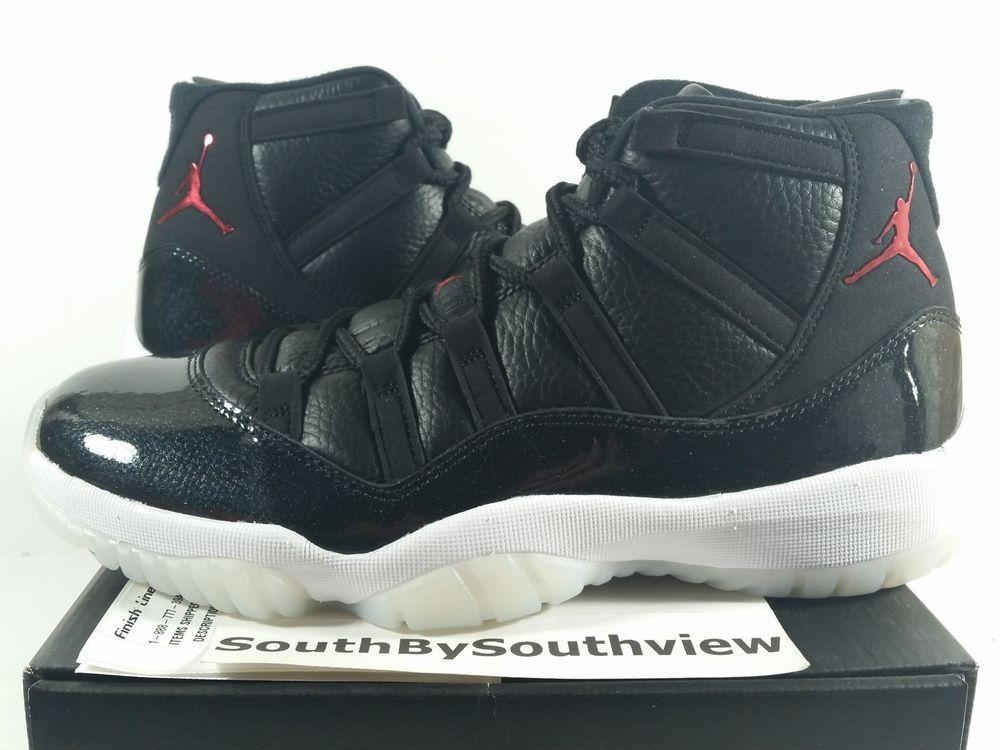 d802df9db22bbc Nike Air Jordan 11 72-10 With Receipt XI Retro 7210 Black Gym Red 378037-002  DS  MichaelJordan  AirJordan  Jordans