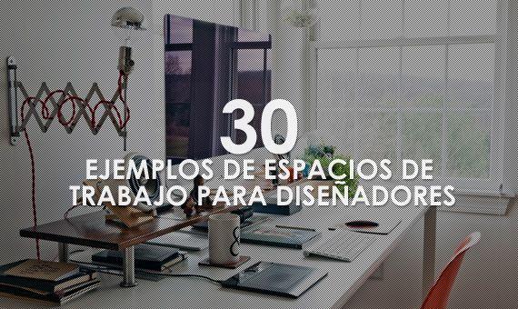 30 bonitos ejemplos de espacios de trabajos para diseñadores web