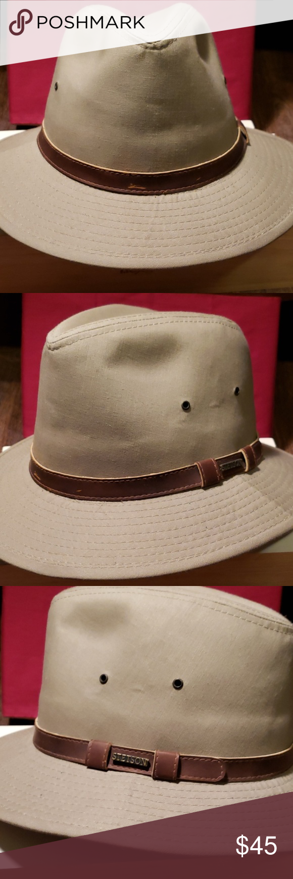 Stetson Explorer Hat Sz Medium Stetson Hats Khaki Green