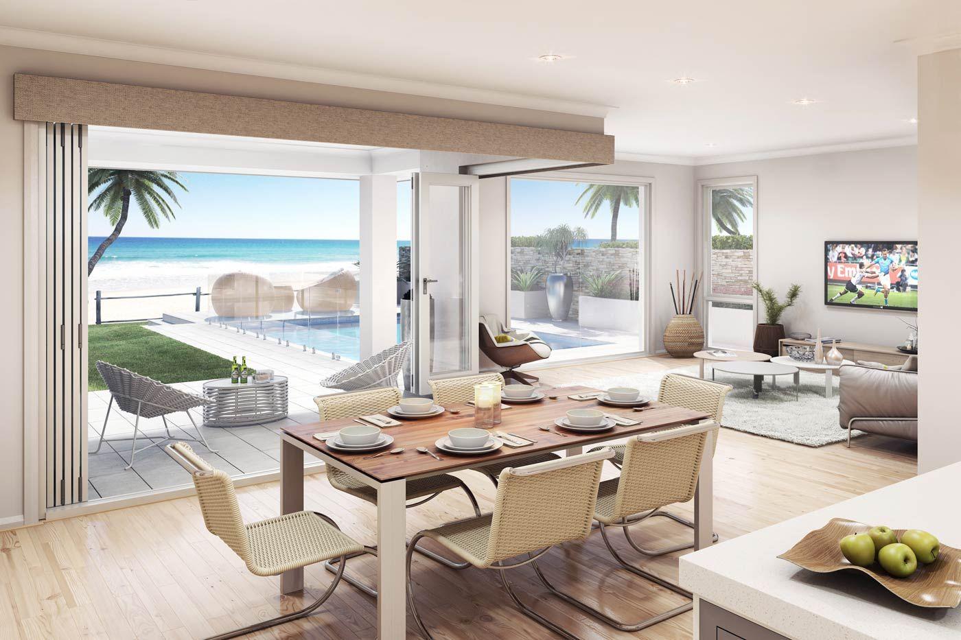 Seaside Retreat - Images   McDonald Jones Homes...foldaway doors yep ...