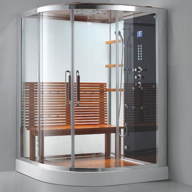 Afficher lu0027image du0027origine Idées pour la maison Pinterest Saunas - faire un sauna maison