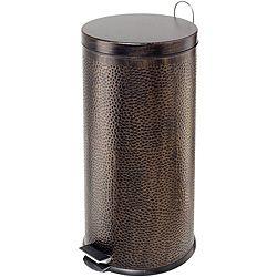 U003cliu003eEnhance Your Kitchen Decor With A Step Trash Canu003c/liu003e U003cliu003eKitchen Trash  Can Boasts A Round Step Opening And Hammered Textureu003c/liu003e U003cliu003eGarden  Accessory ...