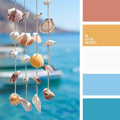 amarillo, azul celeste, blanco, celeste, celeste pastel, color azul aguamarina, color azul marino, color de las conchas, combinación de colores para decorar interiores, de color arena, elección del color, matices fríos y cálidos, selección de colores para el diseño de interiores, tonos
