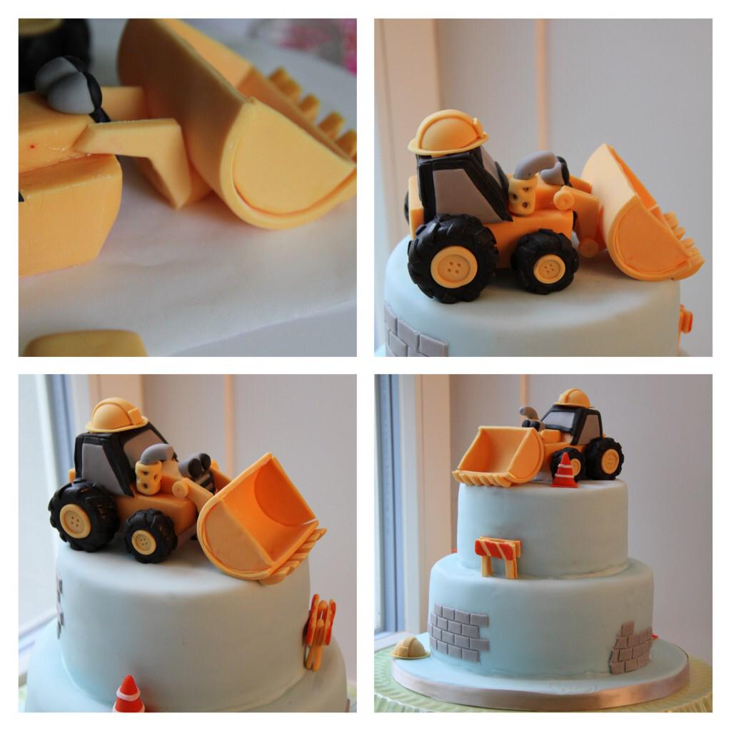 Wie Man Einen Bagger Aus Zucker Baut In 2020 Bagger Kuchen Bagger Torte Bagger Torte Anleitung