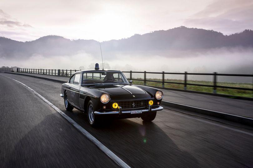 Classic Ferrari cop car for sale