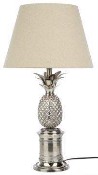 pineapple table lamp matt blatt beach interiors decor