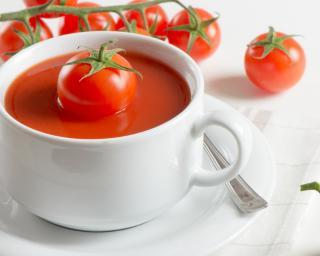 Recette de Soupe de tomates pimentée light #soupedetoxminceur