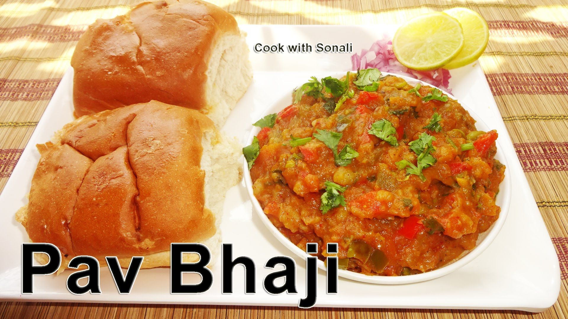 Great pav bhaji mumbai street food recipe easy vegetarian street great pav bhaji mumbai street food recipe easy vegetarian street food by cook with forumfinder Choice Image