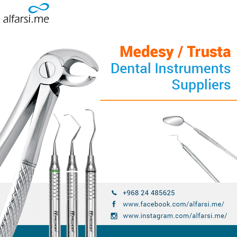 Alfarsi.me offers the complete range of dental instruments