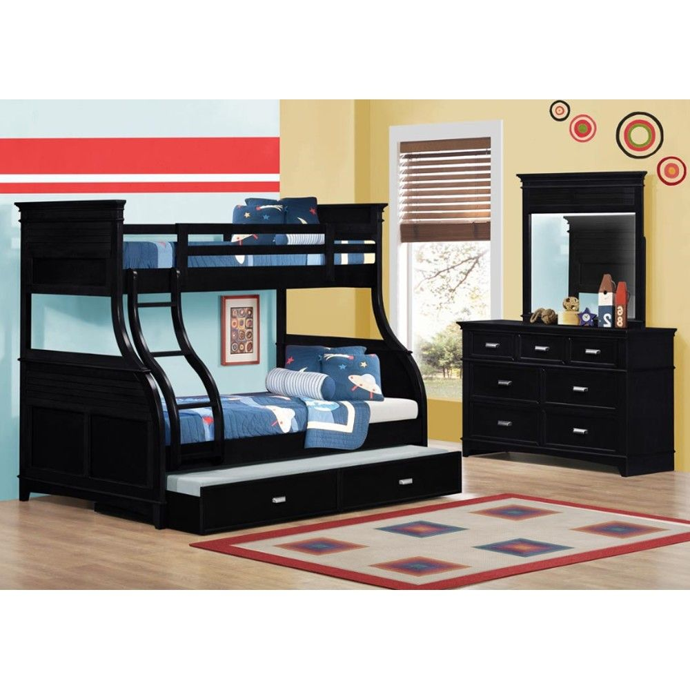 Skylar Twin Over Full Bunk Bed Collection - Bunk Bed, Dresser ...