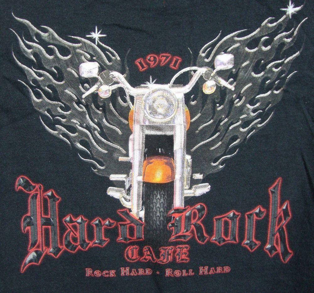 Design t shirt hard rock cafe - Hard Rock Cafe Mens Graphic T Shirt Medium Black Kona Hawaii Closed 100 Cotton