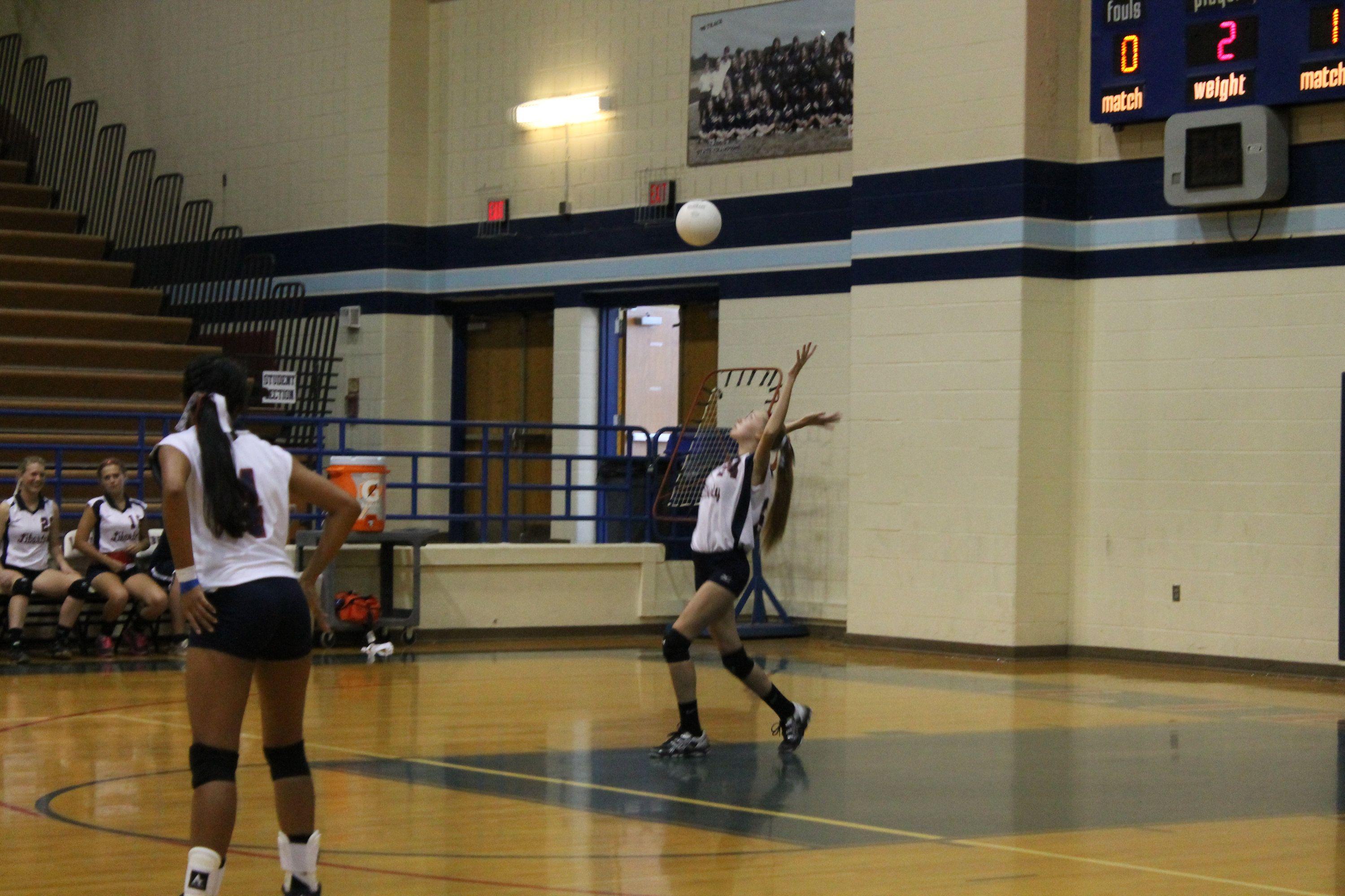 JV Volleyball 2014