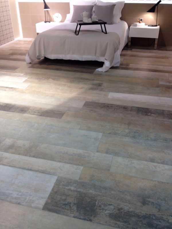 Tile Trends: Wood-effect porcelain with different sized planks ...