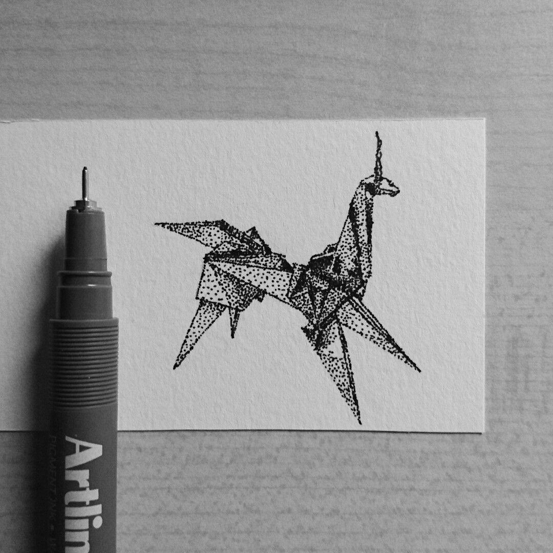 Origami Unicorn from Blade Runner