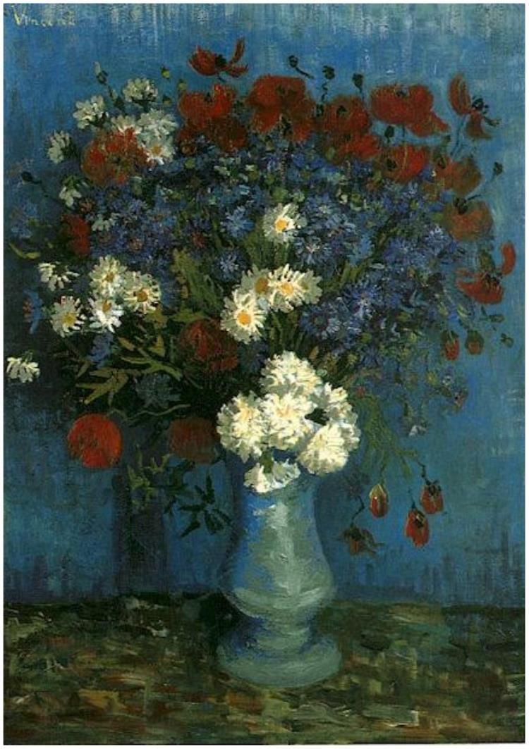Vincent van gogh vase with cornflowers and poppies painting oil vincent van gogh vase with cornflowers and poppies painting oil on canvas paris reviewsmspy