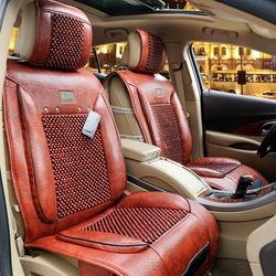 Online Shop Free Shipping For Opel Zafira Seat Cover Wood Beads Car Cushion Astra