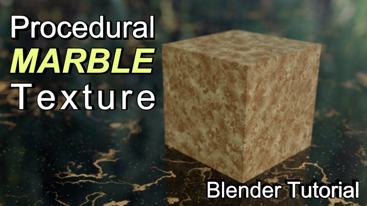 How to Make a Procedural Marble Texture in Blender