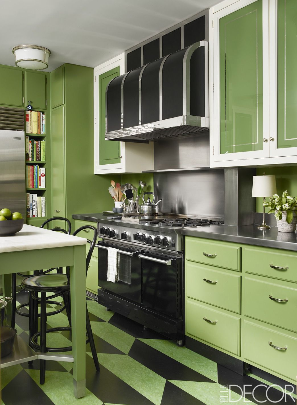 HOUSE TOUR: Childhood Design Dreams Come To Life In This Manhattan on green carpet ideas, kitchen wall color ideas, green kitchen house, blue and green kitchen ideas, green painted kitchen cupboards, white country kitchen designs ideas, green country kitchen ideas, green kitchen feng shui, green paint in kitchen, green doors ideas, lavender kitchen ideas, lime green kitchen ideas, light green kitchen ideas, green kitchen design ideas, green kitchen backsplash ideas, black and green kitchen ideas, green kitchen colors, green kitchen remodeling ideas, benjamin moore kitchen color ideas, kitchen painting ideas,