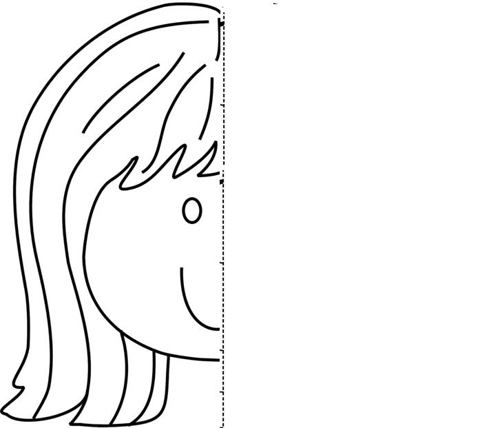 Face Symmetry Activity Coloring Pages Crafts And Worksheets For