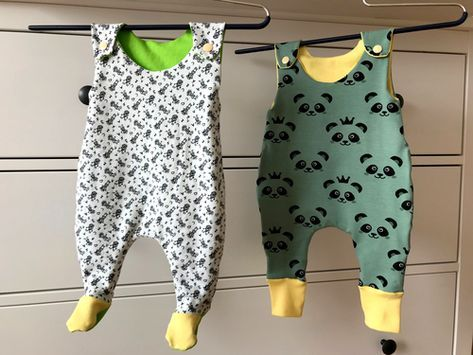 Photo of Romper Mini-We – sewing instructions including sewing pattern »BASTE …