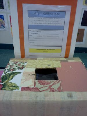 smArty: Annunal Student Art Show, Affirmation Box