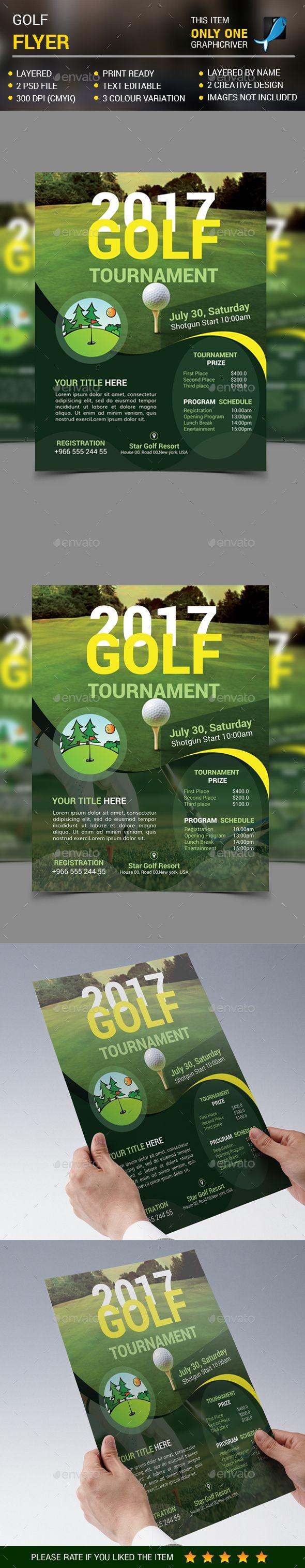 golf flyer sports events flyer pinterest flyer template