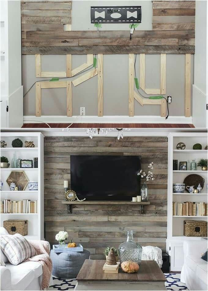 Shiplap Wall Living Room Joanna Gaines