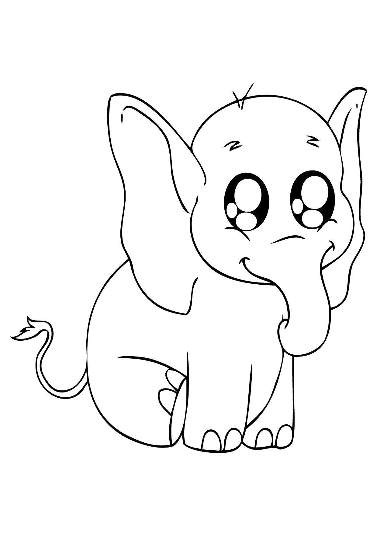 45 Disegni Di Elefanti Da Colorare Disegno Di Elefante Disegni Elefante Disegni