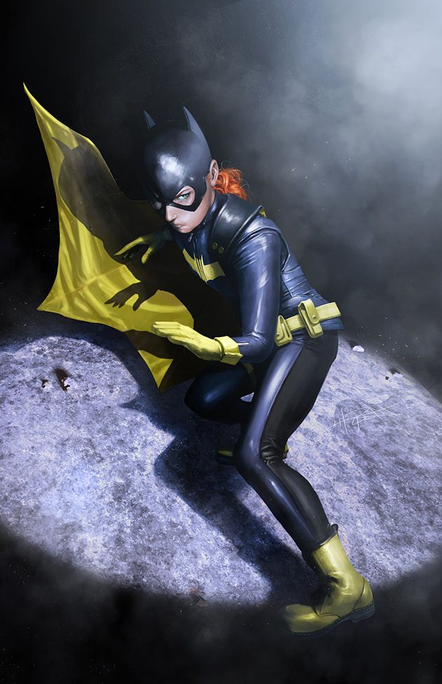 Awesome new Batgirl design done drawn by Rahzzah