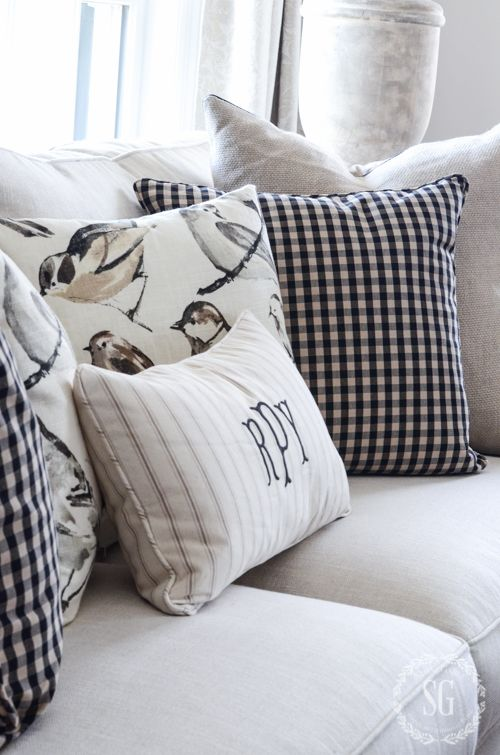 WHEN OKAY IS PERFECT Country Living Magazine Living Magazine And Beauteous Pillow Decorating Tips
