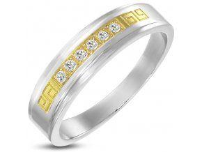 Pánsky prsteň Clés d'or
