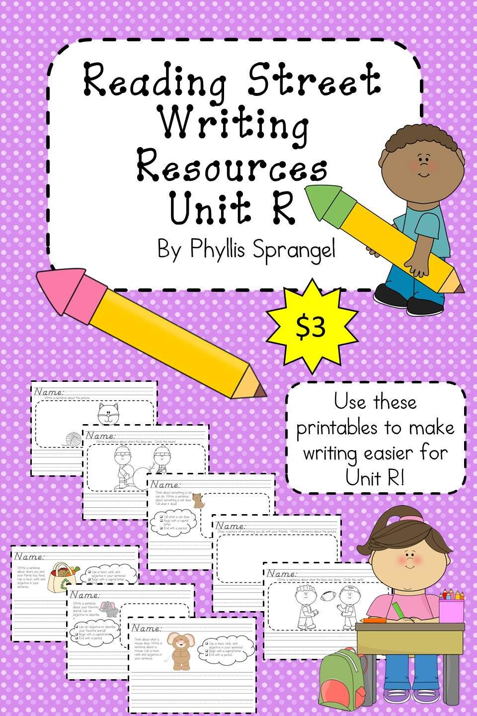 Reading Street Writing Resources Unit R Reading Street Reading Street 3rd Grade Student And Teacher Reading street grade unit week 4