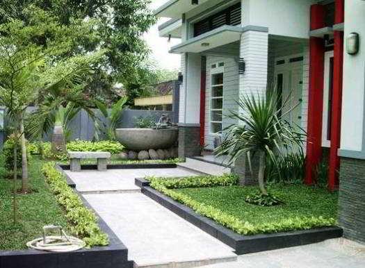 Desain Taman Minimalis Depan Rumah Type 36 Taman Depan