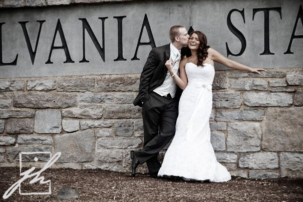 Penn Staters Getting Married At The Pennsylvania State University Sign