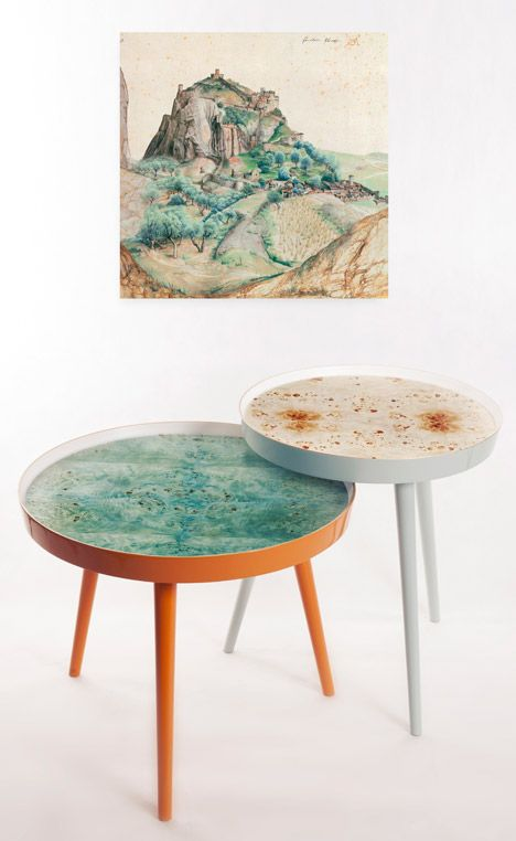 Tables by Danuta Wlodarska  | e-interiors.net |
